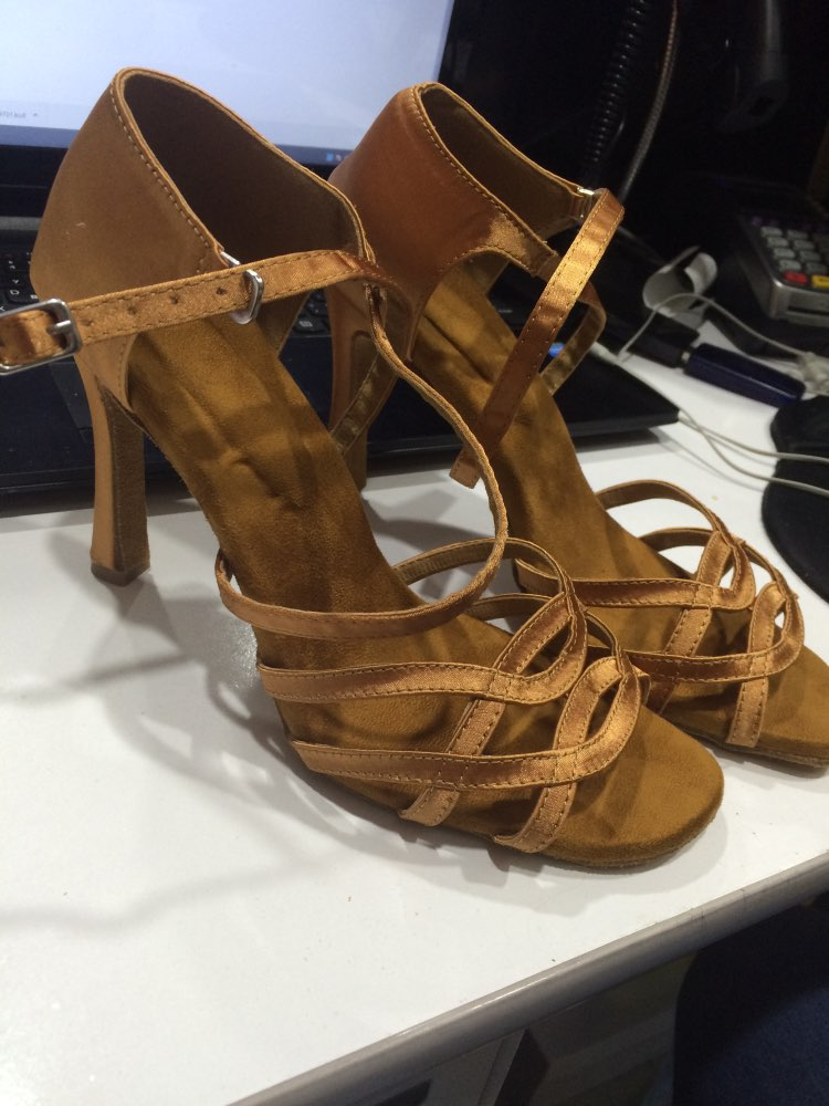Sapatos de dança Mulheres Ballroom Latina
