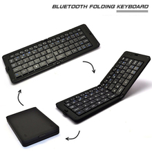 basix keyboard wireless bluetooth foldable keypad Portable Wireless Keypad for Android IOS Phone Windows Mac Laptop PC
