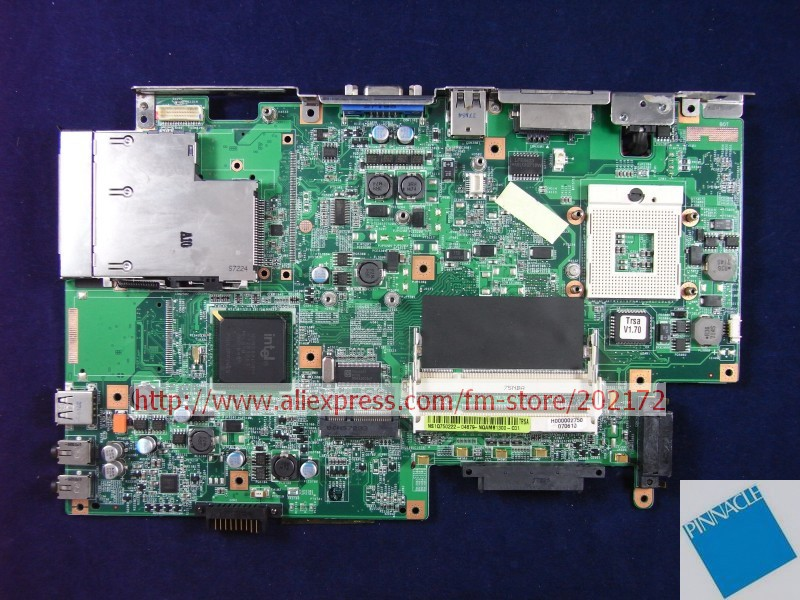 H000003610 H000002750MOTHERBOARD FOR TOSHIBA satellite L40  L45 08G2000TA21JTB TERESA TESTED GOOD v000125000 motherboard for toshiba satellite a300 a305 6050a2169401 tested good