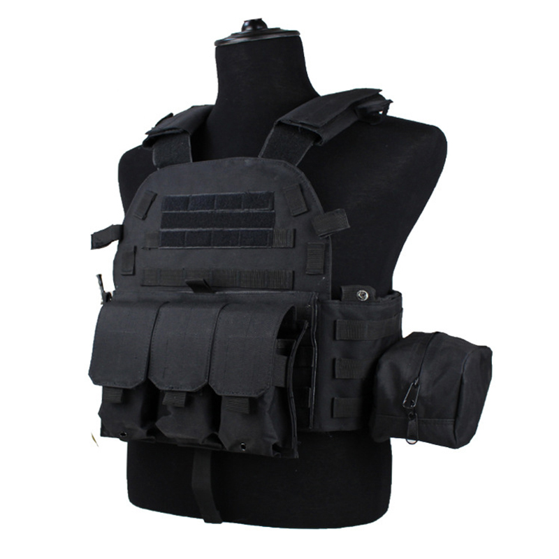Outdoor Airsoft Vests Tactical Police Vests Military Body Armor Sports Wear Men Clothes Army CS Equipment Combat Training Vest