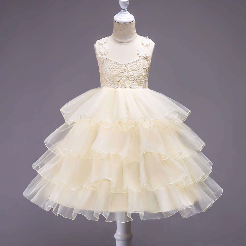 Formal Prom Wear Christmas Princess Children Girl Dress For Pageant Birthday Party Cute Girls Clothes Children's Kids Dresses fashion christmas dress girls party accessories children s halloween costumes for girls party dress kids cute birthday dresses