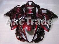 Motorcycle Fairings For Suzuki GSXR GSX R 1300 GSXR1300 2008 2009 2010 2011 2012 2013 Hayabusa ABS Plastic Injection Fairing Red