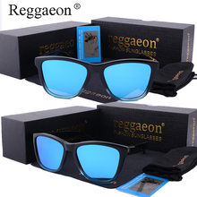 reggaeon quality Gradient Frame Sunglasses Polarized Men Driving Sports Women Glasses Oculos De Sol green red blue Color Lens gg