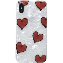 XINDIMAN soft TPU phone cover for iphone 7case 6 6s 6plus silicone case love shell 8 8plus X XS MAX XR capa