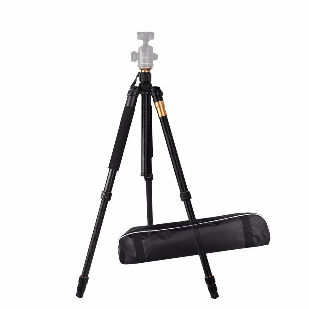 Aluminum Professional Video Tripod Desktop Flexible Holder Monopod ES-Q999 Without Ball Head For Dslr Camera Smartphone Stand