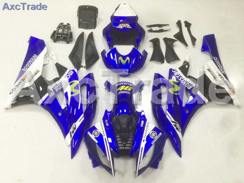 Motorcycle Fairings Kits For Yamaha YZF600 YZF 600 R6 YZF-R6 2006 2007 06 07 ABS Injection Fairing Bodywork Kit Blue Black A01 motorcycle fairings kits for yamaha yzf600 yzf 600 r6 yzf r6 2008 2014 08 14 abs injection fairing bodywork kit red black a40