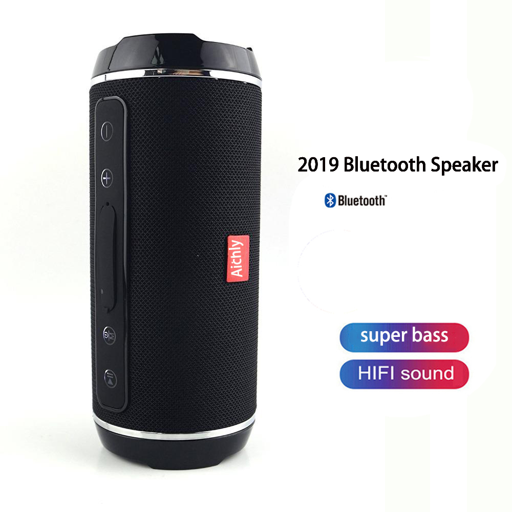 2019 Best Bluetooth 4.2 Speakers Wireless Portable Outdoor Blutooth 10w Speaker Stereo Boombox