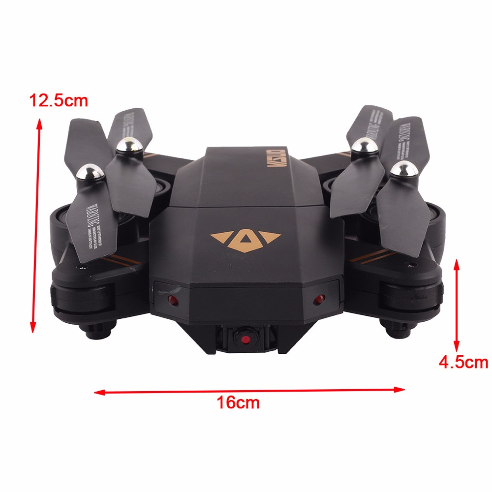 Selfie Drone With Camera XS809 XS809w Fpv Dron Rc Drone Rc Helicopter Quadcopter Mini Foldable DroneToy For Kids Gift XS809HW 5