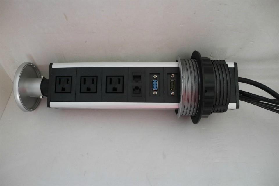 USA power pup up socket