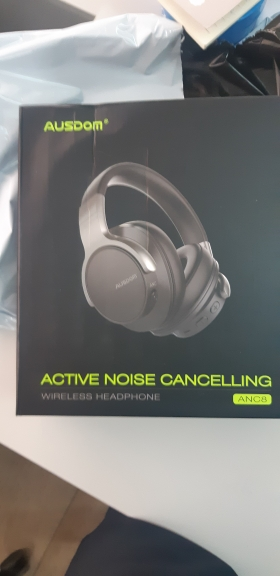 Ausdom ANC8 Active Noise Cancelling Wireless Headphones Bluetooth Headset with Super HiFi Deep Bass 20H Playtime for Travel Work-in Phone Earphones & Headphones from Consumer Electronics on AliExpress
