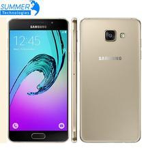 "D'origine Samsung Galaxy A5 A5100 Mobile Téléphone 5.2 ""Dual SIM MSM8939 Octa base 2G RAM 16G ROM 13.0MP 4G LTE Smartphone"