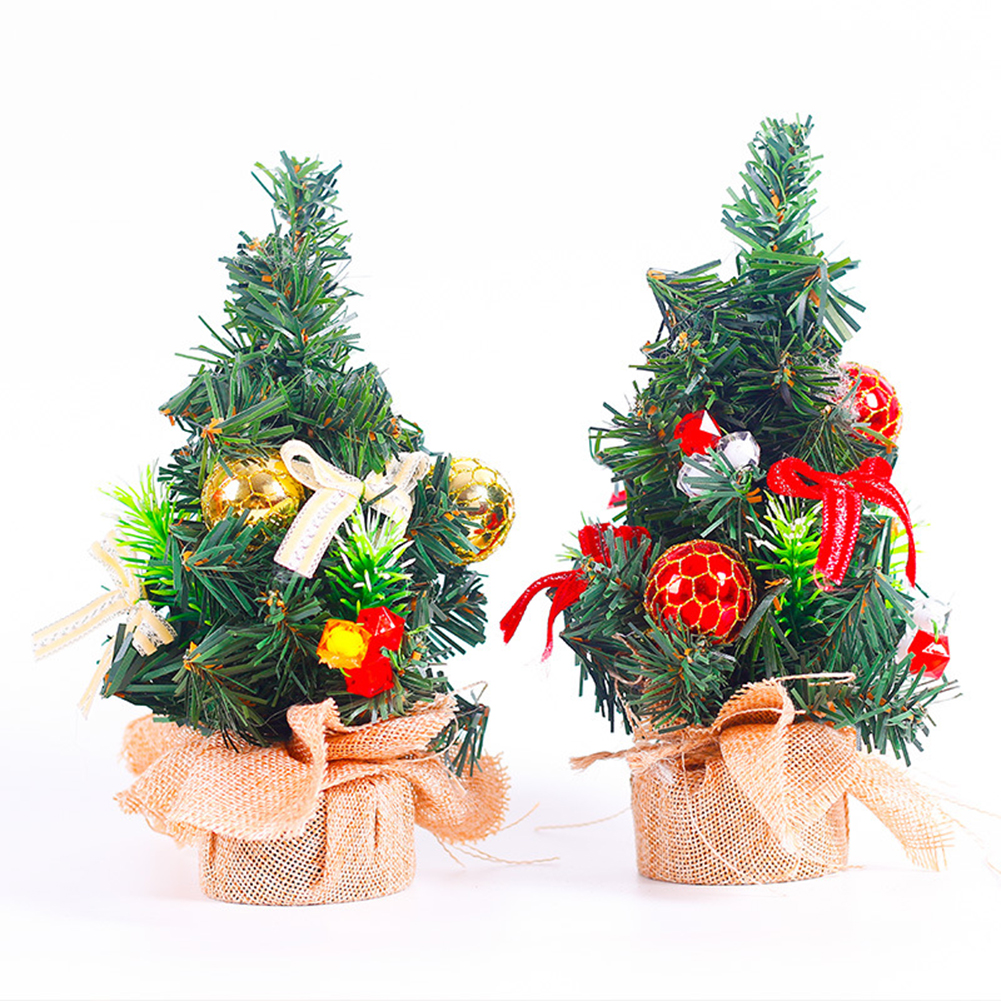 Us 2 16 Mini Tabletop Christmas Tree Decoration Centerpiece Holiday Xmas Ornament Gift In Trees From Home Garden On Aliexpress Com Alibaba