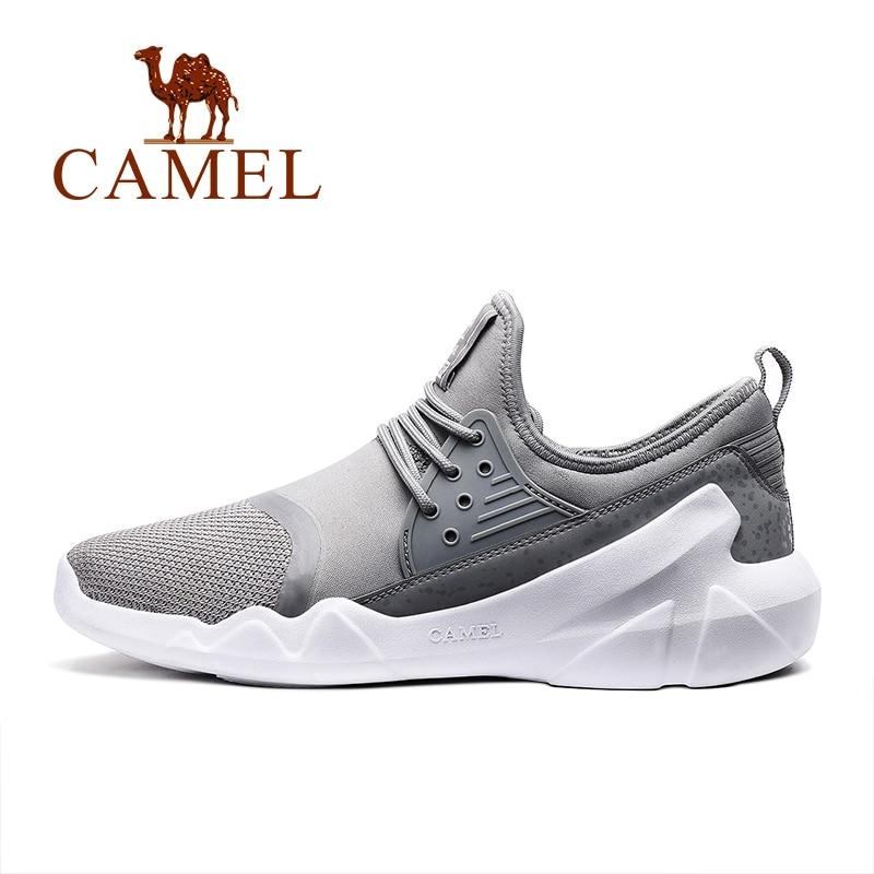 CAMEL беговые кроссовки для мужчин 2018 дышащие легкие беговые кроссовки Bounce удобная обувь спортивные кроссовки обувь для мужчин