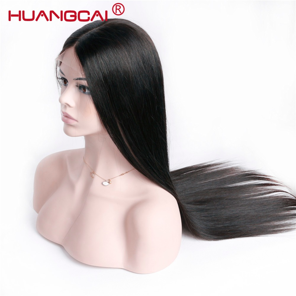360 Lace Frontal Wig 150 Straight Lace Front Human Hair Wigs Pre Plucked With Baby Hair