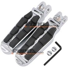 цена на Front Foot Pegs Footrest for Kawasaki Ninja 250R EX300 650 ZX-6R 7R 9R 10R 11 12R 14R ZZR1400 Concours 1400GTR Z1000 00+ (097)