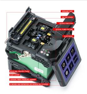Image 4 - Komshine Ultimo Modello GX37 Fibra Ottica Fusion Splicer macchina saldatrice soudeuse de fibra optique con extra elettrodi