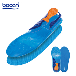 Bocan Gel Insoles Breathable Comfortable Silicone Inserts Deodorant shock absorption shoe Insoles Foot Pain Relieve Cushions
