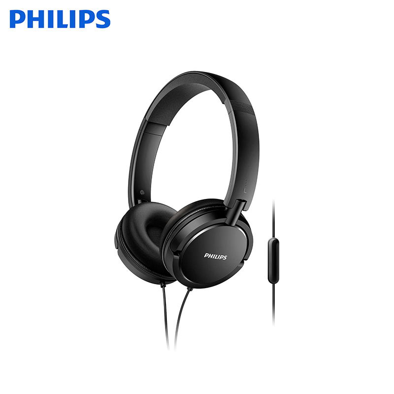 Headphones with mic Philips SHL5005 original mpow coach wireless earphone bluetooth headphones sweat proof headsets w hd mic