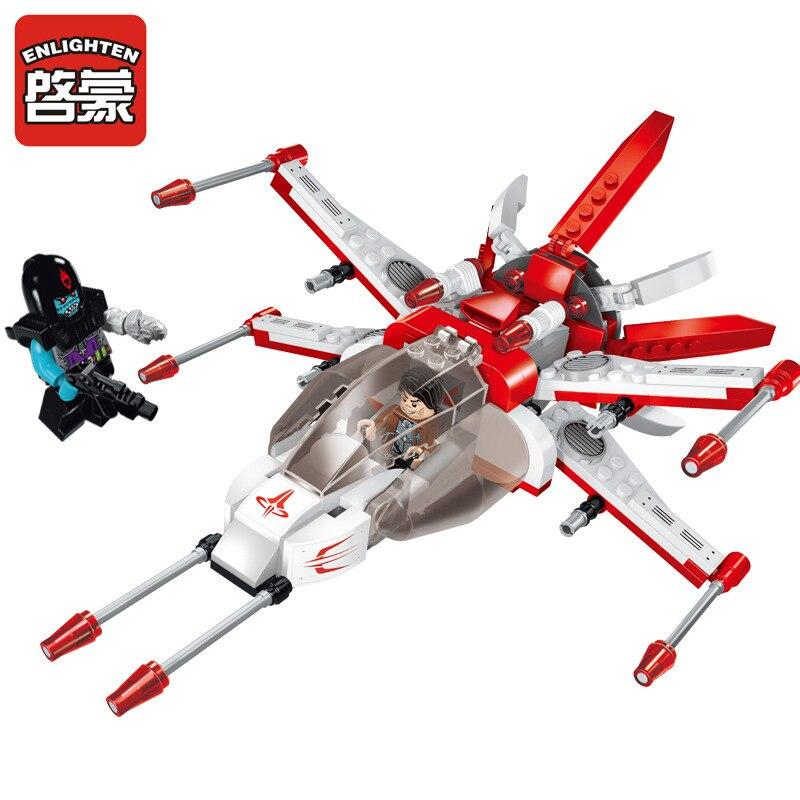 1610 просвещения Space Wars Приключения Fighting Falcon Модель здания Конструкторы Классический DIY Рисунок Игрушечные лошадки для детей Совместимые legoe