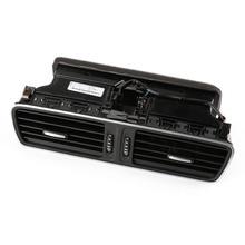 OEM Black Chrome Front Dash Central Air Vent For Volkswagen PASSAT B6 B7 CC 3AD 819 728