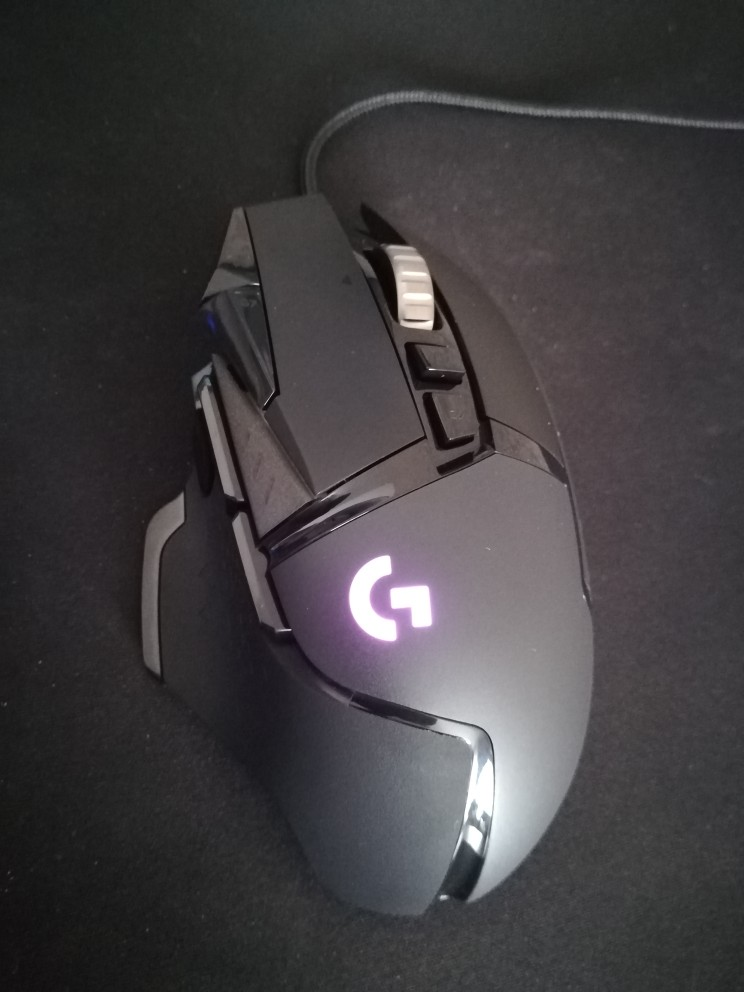 Logitech (G) G502 Hero master game mouse Full line upgrade Hero engine 16000DPI RGB glare G502 RGB upgrade