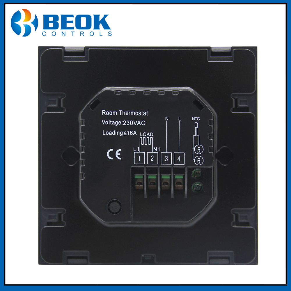 Image 5 - TGT70 EP Thermoregulator Touch Screen Heating Thermostat for Warm Floor, Water, Electric Heating System Thermostat-in Temperature Instruments from Tools
