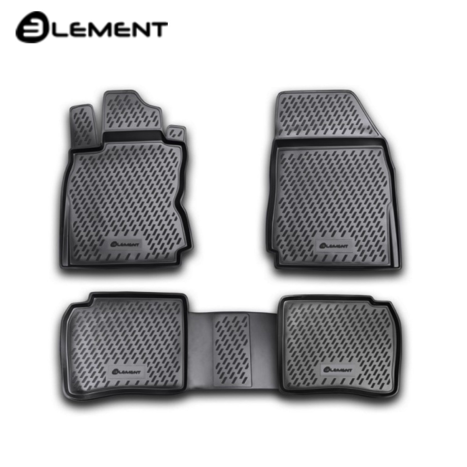 Floor mats into saloon for Nissan Note 2005-2013 4 pcs/set Element CARNIS00011 agnia barto merry rhymes веселые стихи