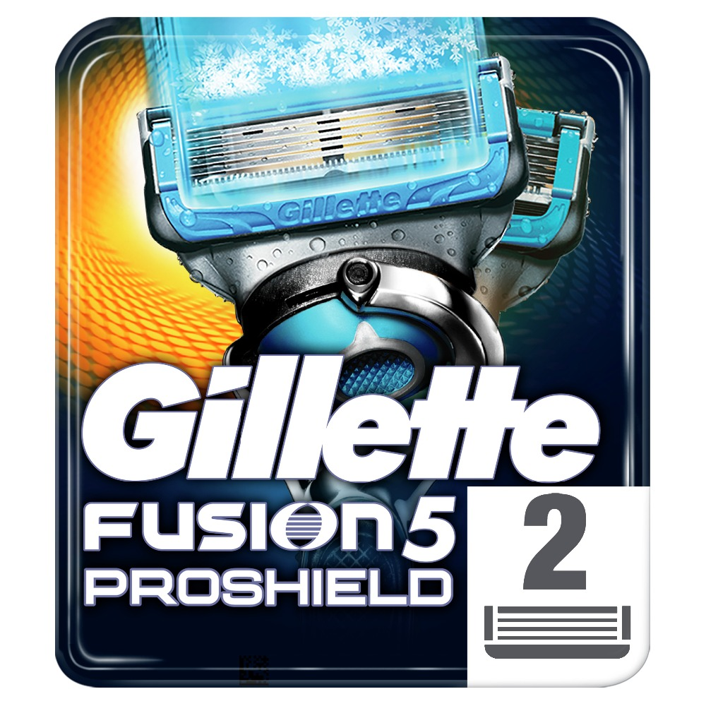 Removable Razor Blades for Men Gillette Fusion ProShield Chill Blade for Shaving 2 Replaceable Cassettes Fusion Cartridge removable razor blades for men gillette fusion 5 blade for shaving 6 replaceable cassettes shaving fusion cartridge