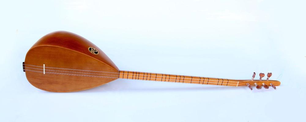 TURKISH QUALITY LONG NECK MULBERRY BAGLAMA SAZ FOR SALE ASL-109