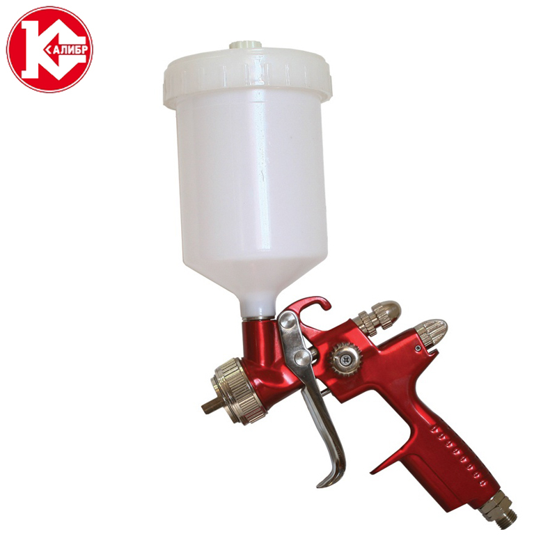 купить Kalibr KRP-1.3/0.5VB PROFI spray paint gun airless spray gun for painting car Pneumatic tool air brush sprayer по цене 6310 рублей