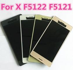 Originele NIEUWE Display Voor SONY Xperia X F5121 F5122 Lcd Touch Screen Digitizer Vergadering Vervanging 5.0