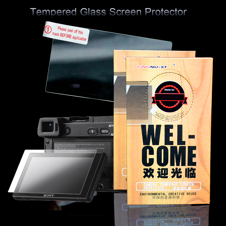 Original LCD 3 inch Camera Tempered Glass Screen Protector For Sony A5100 A6000 A5000 A6500 A6300