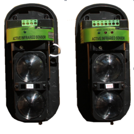Dual Two Double 2 Beam Photoelectric Security Infrared Sensor Detector Alarm Outdoor 20M-150M 5m ac90 250v photoelectric sensor beam photoelectric switch relay output infrared sensor ele50s d501jb7