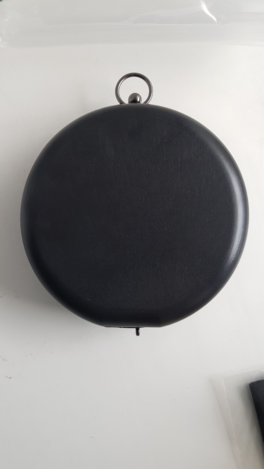 18.2 Or 15.5cm Round Flat Box Frame Bring Ring DIY Handbag Accessories Purse Frame Bag Handle Parts Drop Shopping Purse Frame photo review