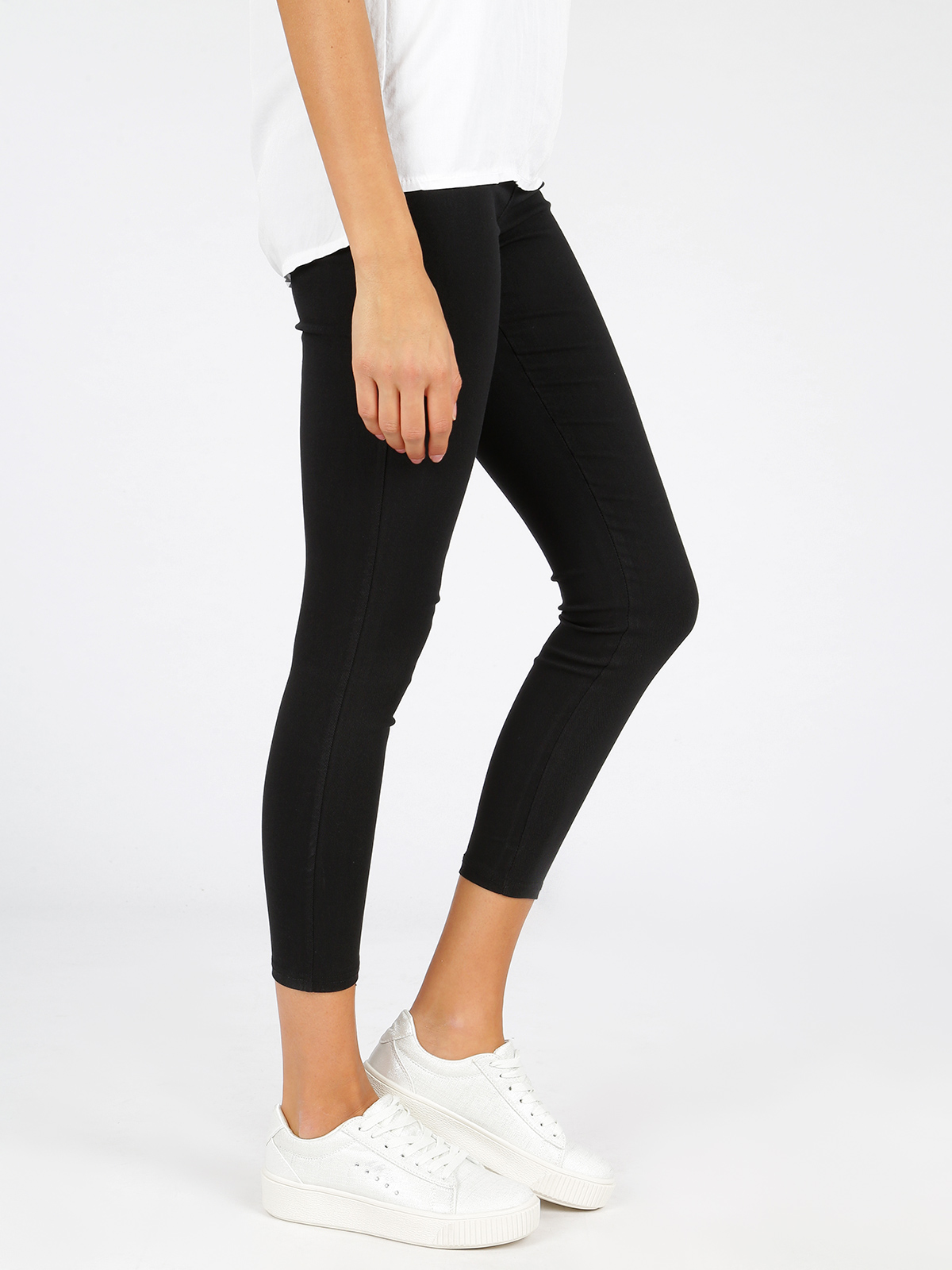 Stretch Leggings High Waist