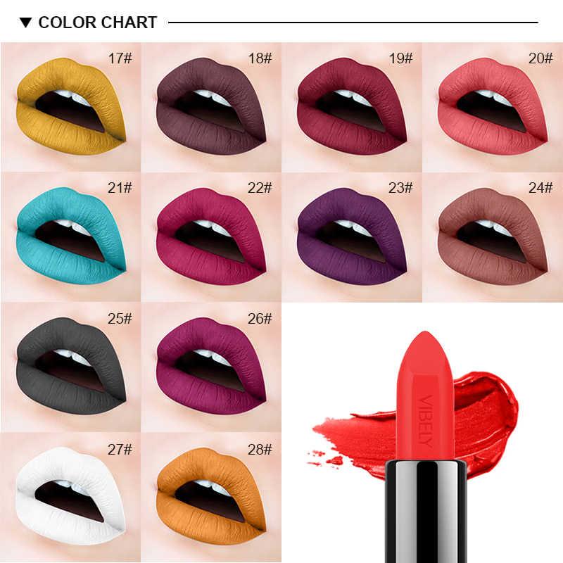 2018 nouveaux rouges à lèvres pour femmes Sexy marque lèvres couleur cosmétiques imperméable longue durée Nude rouge à lèvres mat maquillage