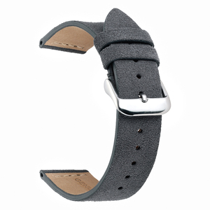 Image 5 - EACHE 18mm 20mm 22mm Watchband 100%  Suede Leather Watch Strap  for men women Watch bands