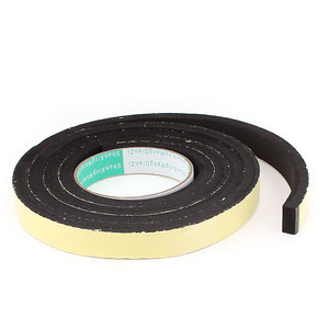 Image 1 - X Autohaux 2M Long 20Mm X 10Mm Door Window Single Side Adhesive Foam Sealing Tape Strip
