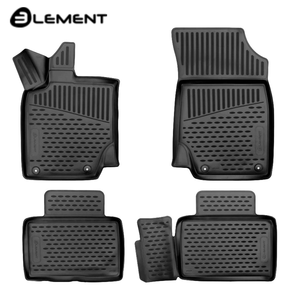 Per Geely Atlante 2017-2019 3D tappetini in saloon 4 pz/set Elemento ELEMENT3D7518210k