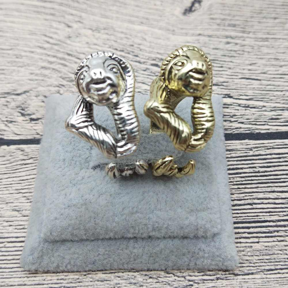 New Vintage Retro Sloth Rings Classic Adjustable Sloth Rings Women Sloth Jewellery