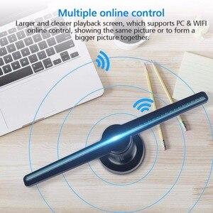 Image 3 - 3D голографический проектор AUSIDA, голографический проектор с логотипом, светодиодный светильник