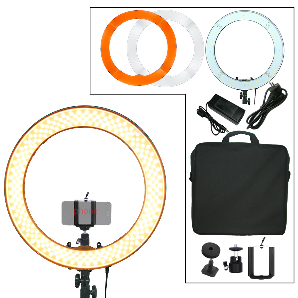 Engage 240 STKS Ring Licht LED 55 W 5500 K Camera Fotostudio Telefoon - Camera en foto - Foto 1