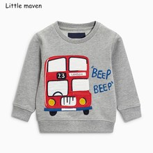 Boys Autumn Winter Hoodies Vests Pants 3 pcs kids