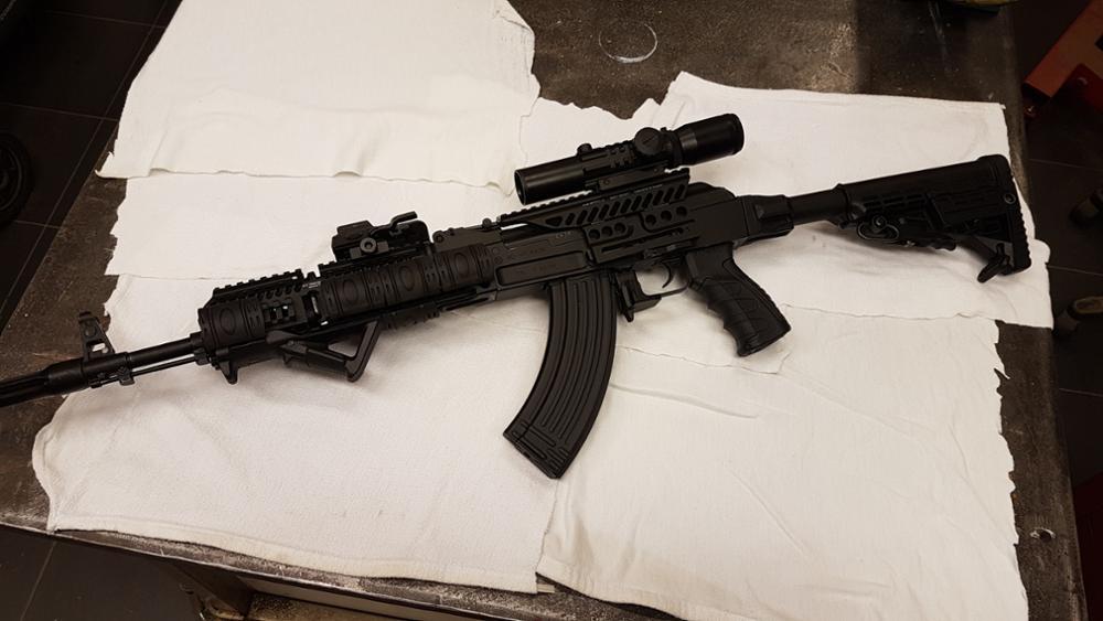WIPSON Russian ak AK47 74 47 Zenit B-13 CNC Aluminium 20mm M47 qd Side Rail  Red Dot Scope Mount Base Picatinny Cerakote Hunting