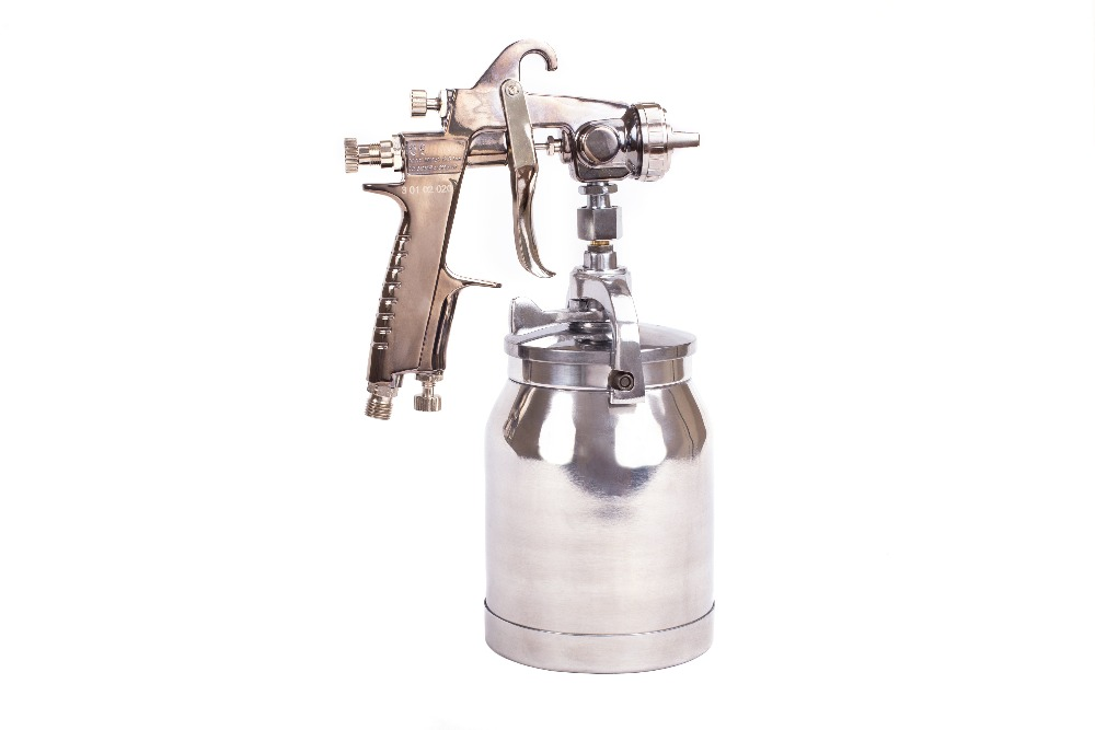 Paint spray gun KRATON HVLP-02S kalibr ekrp 350 2 6m electric spray gun latex paint airbrush paint spray gun