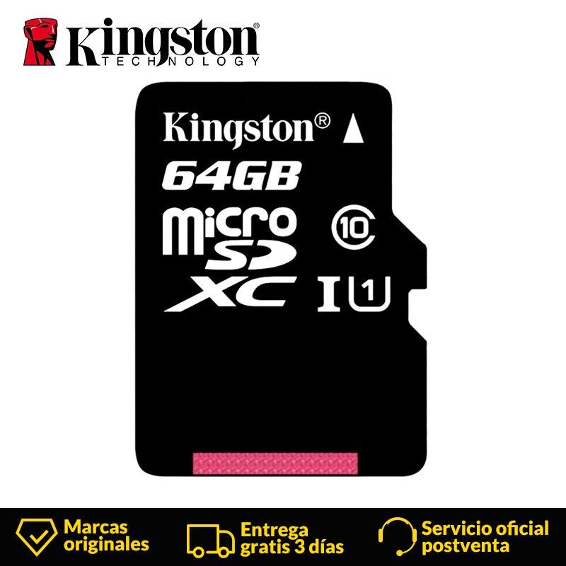 Kingston Class 10 Micro SD Card 32GB 64GB 16GB 128GB MicroSD Memory Card SDHC XC UHS-1 Flash Card SDTF Card For Tablet Camera