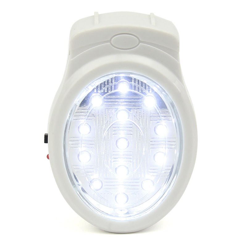 13LED Rechargeable Home Wall Emergency Light Power Failure Lamp Bulb US 110-240V VC495 T10
