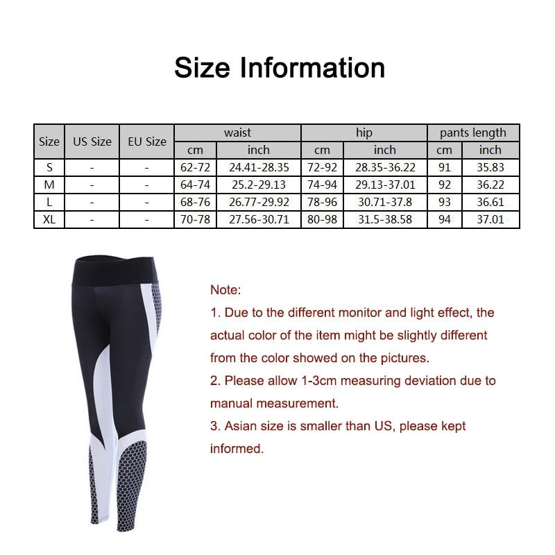 New Fitness leggings Women Mesh Breathable High Waist Sport Legins Femme Workout Legging Push Up Elastic Slim Pants Plus Size 3