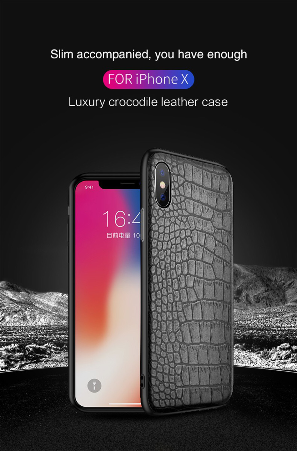 Retro Vintage Phone Bag Case For Iphone X 6 6s 7 7s 8 Plus Crocodile Snake Skin Pattern Soft Protective Cover Shell For iphoneX (1)