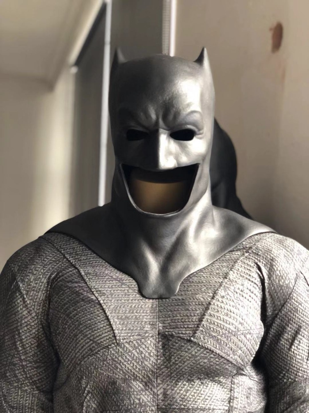 Batman Cowl From Dawn of Justice Batman v Superman and Justice League Batman Cosplay Mask Rubber Cast